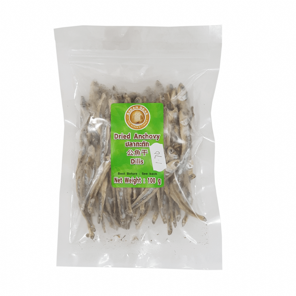 Asean Seas Dried Anchovy 100g